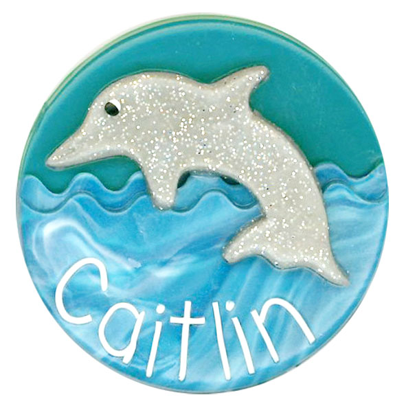 Dolphin Animal Badge